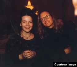 Ольга Тобрелутс и Энни Лейбовиц, 1999 год