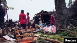 Prizor iz Port Vila nakon razarajućeg ciklona Pam, 14. mart 2015.