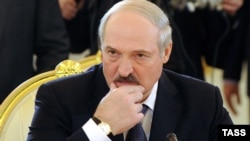 Russia -- Belarus President Alyaksandr Lukashenka at a regular summit of the Eurasian Economic Community in Moscow, 19Mar2012