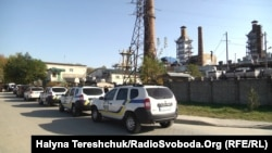 ТЕЦ у Новояворівську під час приїзду представників АРМА і НАБУ 17 жовтня 2018 р.