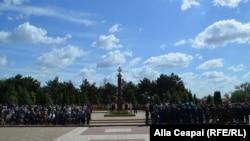 """Ceremonii la Memorialul """"Eternitatea"""" la Chișinău"""