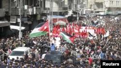 Protesta ne Jordani, foto nga arkivi