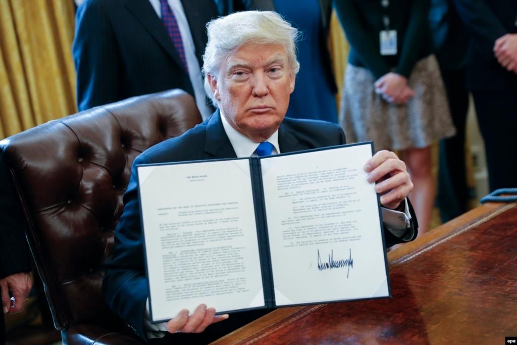 Trump i jep dritën jeshile naftësjellësit Keystone XL