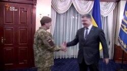 Президент зустрів звільненого «кіборга» «Рахмана»