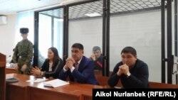 Одно из заседаний суда по делу Курсана Асанова.