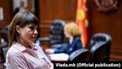 Архивска фотографија-Министерката за образование и наука Мила Царовска