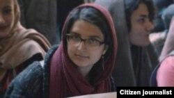 Iran - Parisa Rafei , Student Activist