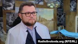 Лікар Ігор Йовенко, завідувач відділення інтенсивної терапії політравми лікарні імені Мечникова, який із командою реаніматологів намагалися врятувати життя бійця