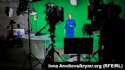 Катерина Некреча у студії