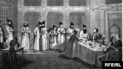 Türkmənçay müqaviləsinin imzalanması