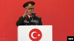 جنرال هلوسی اکار رئیس کمیته لوی درستیزان اردوی ترکیه