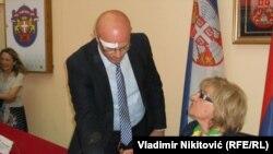 Igor Trifunović i Radmila Živković