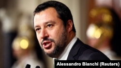 Lideri i Partisë Liga, Matteo Salvini