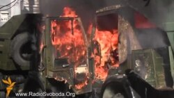 На вулиці Шовковичній згорів камаз