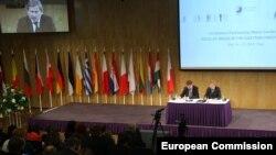 Прес-конференція під час саміту «Східного партнерства». Рига, 20 травня 2015 року