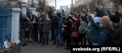 Акцыя памяці Рамана Бандарэнкі ў Магілёве. 13 лістапада.
