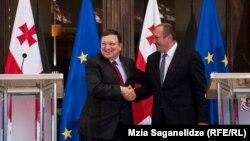 Председатель Еврокомиссии сказал, что приехал в Тбилиси, в первую очередь, для того, чтобы выразить поддержку Грузии в преддверии подписания соглашения об ассоциации с ЕС