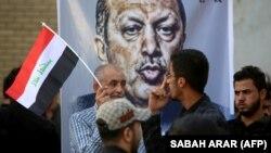 حرکت اعتراضی مردم عراق علیه حضور ترکیه در خاک آن کشور