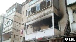 Взрыв бытового газа в одном из домов в Душанбе. 2007 год