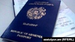 Armenia -- Armenian passports, 14Sep2011