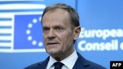 Еуропа кеңесінің президенті Дональд Туск. Брюссель, 9 наурыз 2017 жыл.