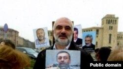 Координатор Комитета по защите политзаключенных и преследуемых Карапет Рубинян (архив)