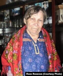 Мария Николаевна Монина. 2012 г. Фото: Н.К. Партанов