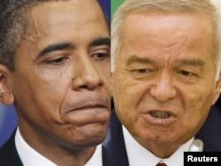 Барак Обама ва Ислом Каримов