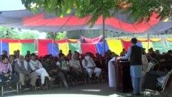 افزایش خیمههای تحصن در شهر کابل
