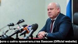 Khakassia, Victor Zimin - the head of the republic