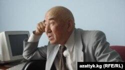 """Салижан Жигитов. """"Азаттык"""" үналгысынын архивинен."""