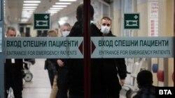 Настанените в болници пациенти с COVID-19 в България са 1450