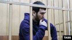 Анзор Губашев, обвиняемый по делу об убийстве Бориса Немцова