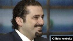 Outgoing Lebanese Prime Minister Saad Hariri