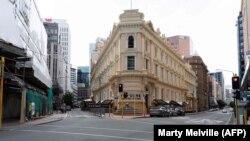 Столица Новой Зеландии Веллингтон во время карантина в конце марта этого года.