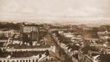 Менск, від з даху Дамініканскага касьцёлу. 1918