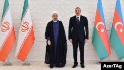 Ruhani və Əliyevin rəsmi görüşü, 07.08.2016