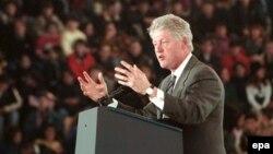 АҚШ-тың 42-президенті Билл Клинтон.