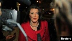 Претседателката на Косово, Атифете Јахјага.