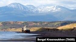 Острів Ітуруп у Сахалінській області