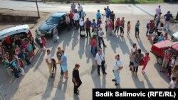 Prvi dan škole u Konjević Polju 2015. godine, arhivska fotografija
