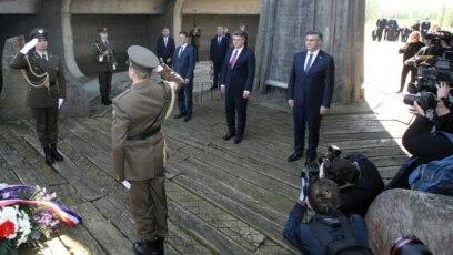 Državni vrh u Jasenovcu, 22. travnja 2020