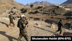 افغان سرتیري ننګرهار کې د عملیاتو پر مهال