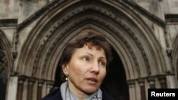 Марина, вдова Александра Литвиненко