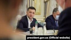 Претседателот на Украина Володимир Зеленски