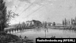 Рівненський замок Любомирських очима австрійця Антона Лянге