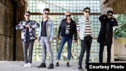 KAZAKHSTAN -- Kazakh K-Pop band Ninety One