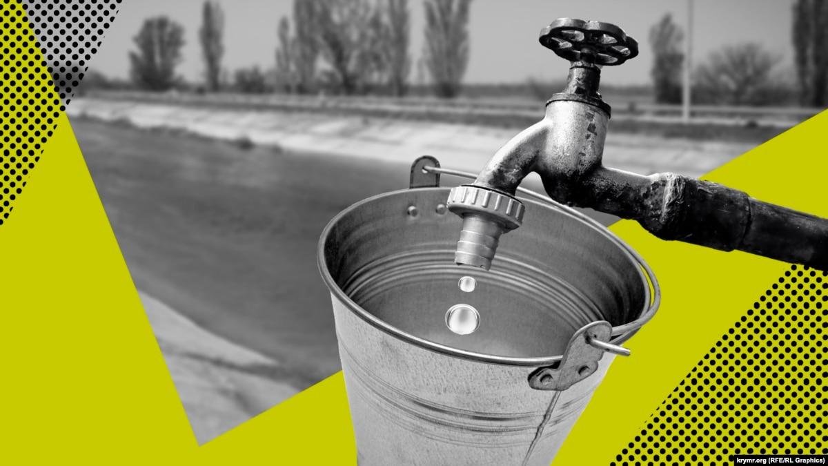 Или возобновлять поставки воды в оккупированный Крым? Киев будет сдавать экзамен