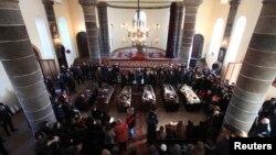 Жалобная цырымонія ў Гюмры