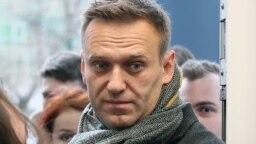 Jailed Russian oppostion leader Aleksei Navalny (file photo)